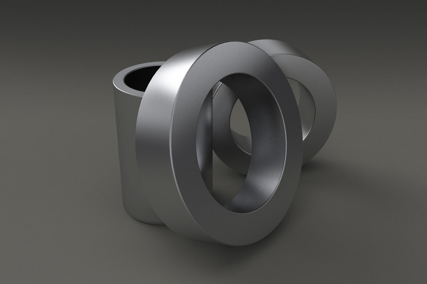 Rings and cylindrical hollows